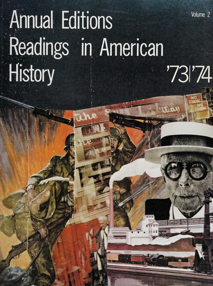 Annual Editions Readings in American History Volume 2 by