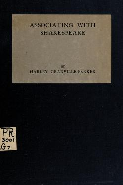 Cover of: Associating with Shakespeare | by Harley Granville-Barker.
