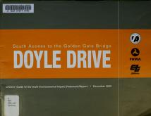 Doyle Drive by San Francisco County Transportation Authority.