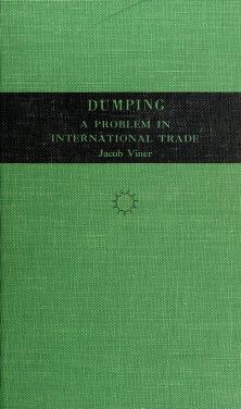 Cover of: Dumping | Viner, Jacob