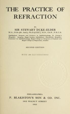 Cover of: The practice of refraction | Duke-Elder, William Stewart Sir