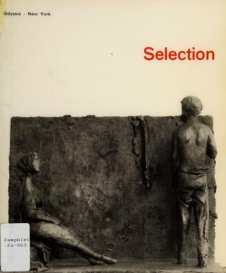 Cover of: Selection | Odyssia